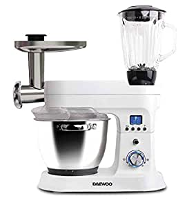 Daewoo dsx-5085–Food Processors (LED, Plastic, 50/60Hz, Plastic, Stainless Steel, PE, Chopper, à coktail)