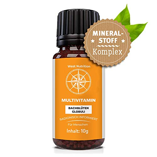 C30 MULTIVITAMIN Globuli | 100% natürliches veganes Nahrungsergänzungsmittel | Mineralstoffe | Multivitamine | Vitamins | Rezeptfrei | Radionisch Informiert | 10g