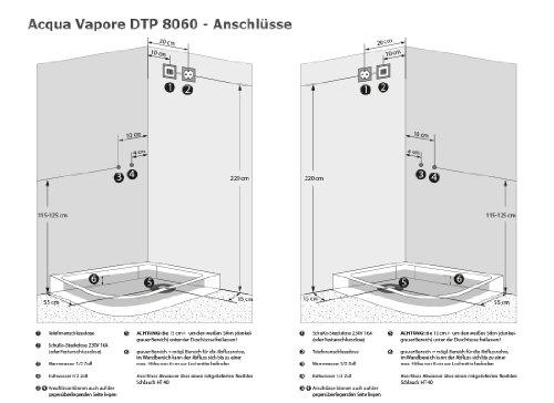 AcquaVapore – Duschtempel Komplett - 7