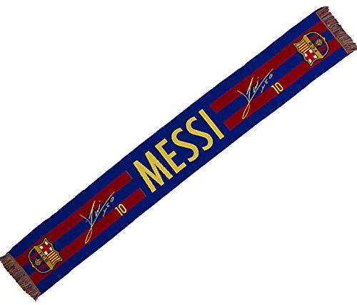 FC BARCELONA. Bufanda Oficial- Firma Messi Medidas del artículo: 140 x 20cm - Producto licenciado - Si tuviera alguna duda pongase en contacto con nosotros.