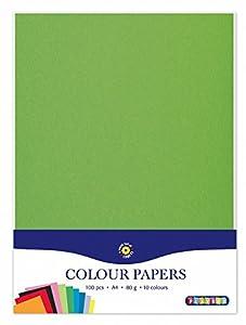 Playbox - Papel A4, 10 x 10 Colores (100 Hojas) - (PBX2471193)