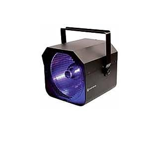 Ghost UV400 Black Gun Projecteur de lumière avec réflecteur + Ballast incorporé Noir