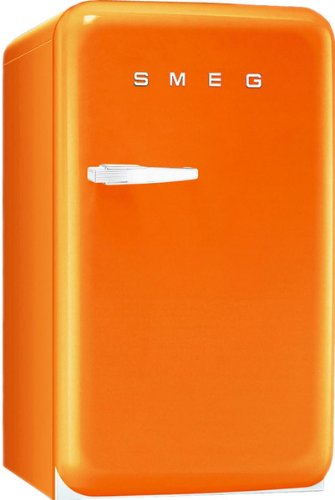 Smeg fab5ro autonome 40L E orange Kühlschrank-Kühlschränke (autonome, orange, rechts, 40l, 42l, sn-t)