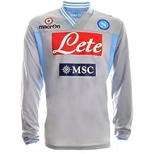 maglia napoli Grigio calcio it Amazon wxYH66