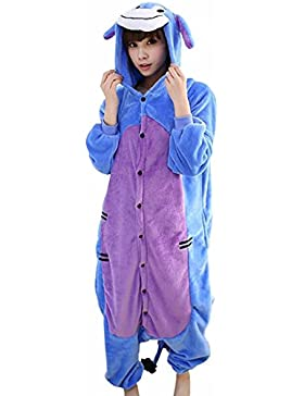 bdf1af0d65 Unisex Fumetto Adulto Animale Kigurumi Caldo Pigiama Morbido Cosplay  Pigiameria Costume