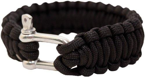 bushcraft-bcb-paracord-bracelet-metal-buckle-black