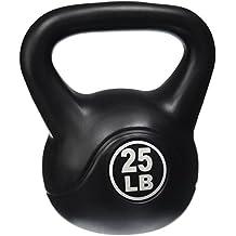 Ultrasport Kettlebell - Pesa esférica de 4 kg, color negro