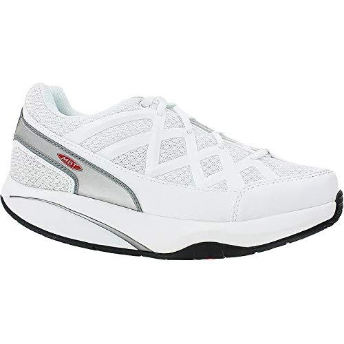 MBTSPORT 3-W - Sport 3 Damen, (White Leather/Mesh), 35 EU (Mbt-walking-schuhe)