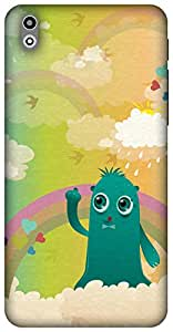 The Racoon Grip In the Clouds hard plastic printed back case/cover for HTC Desire 816g
