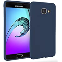 MyGadget Coque Silicone pour Samsung Galaxy A3 2016 - Ultra fin - Housse TPU protection No Scratch Case anti choc et rayures - Bleu
