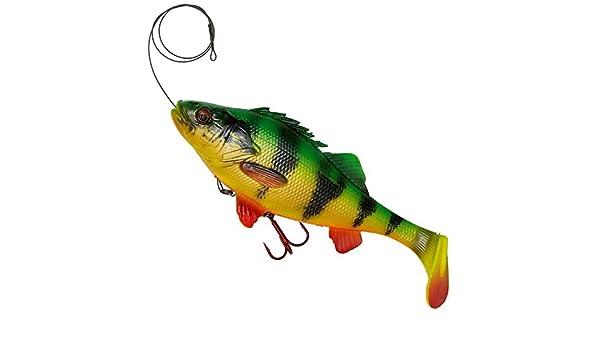 line thru 20cm or 23cm  crazy price Savage Gear 4D Perch Shad 12.5 and 17.5cm