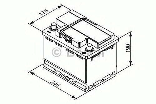 BOSCH 0092T30050 Truck-Batterie 55 mAh 420 A RF 420a Batterie
