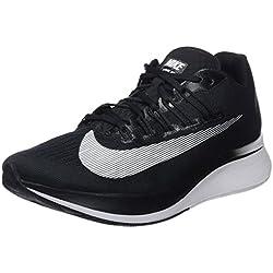 Nike Wmns Zoom Fly, Zapatillas de Entrenamiento para Mujer, Negro (Black/White-Anthracite-Wolf Grey 001