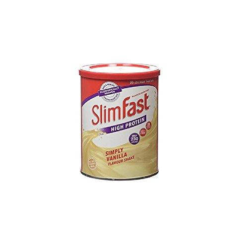 slim-fast-simplemente-vainilla-en-polvo-sabor-batido-12-porciones-438g-paquete-de-2