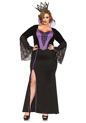 Leg Avenue 85489X - Evil Queen Kostüme, Größe 3X-4X (EUR 48-50) (Böse Kostüm Königin Größe Plus)