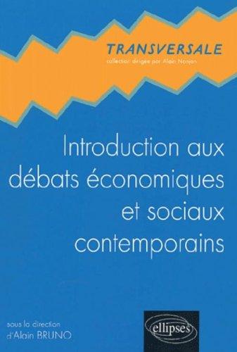 Introduction aux débats économiques et sociaux contemporains