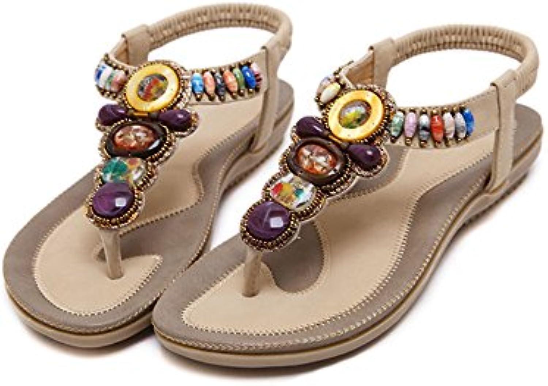 HAIZHEN Frauenschuhe Weibliche Sommer Sandalen/flache Schuhe Casual/Damen Schuhe mit 4 Farben Für Frauen (Farbeö