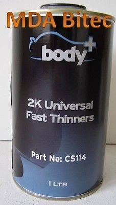body-universal-2k-fast-thinners-1-litre-2pack-for-paint-lacquers-primers