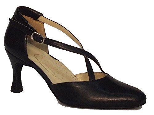 Scarpa da donna per ballo standard cuccarini nero 70N (Taglia 38)