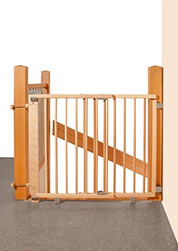 Artikelbild: Geuther 2735 Schwenk Treppenschutzgitter, natur
