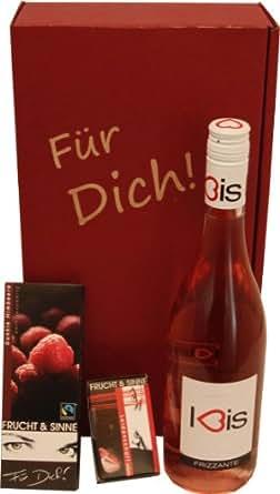 Geschenkset Für Dich (Frizzante und Schokolade), 1er Pack