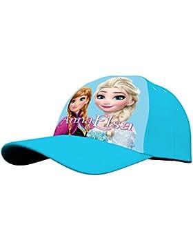 Kids Frozen, Gorra para Niñas, Azul (Blue 004), One Size (Tamaño del fabricante:TU)