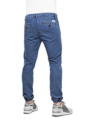REELL Pant Jogger Pant Artikel-Nr.1100 - 1037 Premium Mid Blue