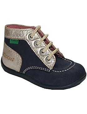 Kickers - zapatos con cordones Bebé-Niñas