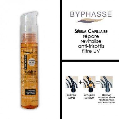 Byphasse - Sérum capillaire - sublim protect à la protéine de soie - 50ml