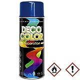 1 Stück 400ml Lackspray Spraydose Dekorfarbe Blau Enzianblau RAL 5010 10072