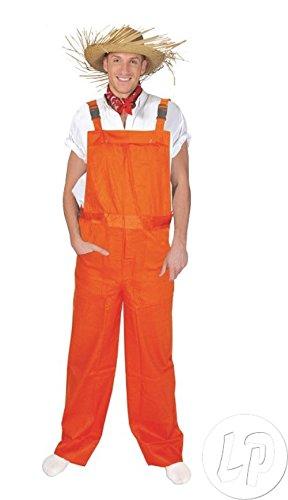 Latzhose orange neon/Größe L–Qualität coolminiprix