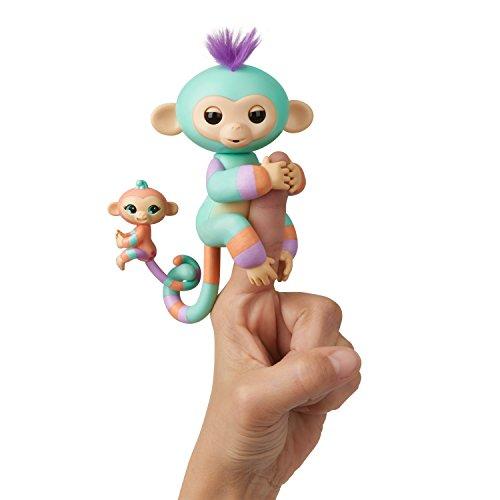 Wow Wee 3544 Baby Äffchen und Mini Fingerlings 4