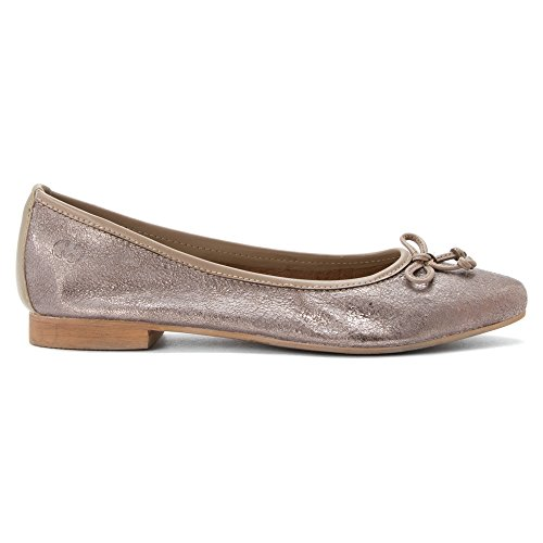 Gerry Weber Edith 01 Cuir Ballerines Old-Bronze