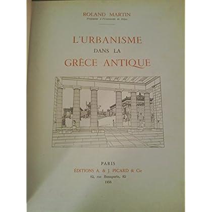 L'urbanisme dans la grèce antique.