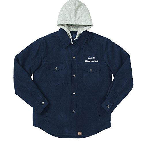 Dunbrooke Apparel NFL DUKANE Leinwand Workwear Jacke, Herren, Team Xl Workwear-snap