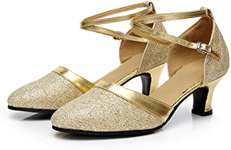 XPY&DGX La Danse Danse Danse de Salon la Danse de Salon la Danse de Salon des Chaussures à la Fin de High-Heeled Adultes Chaussures...B078HKQS31Parent ba22d9