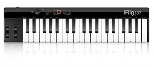 IK Multimedia 03-90063 iRig Keys 37 Midi mini Keyboard controller für MAC/PC inkl. USB Kabel