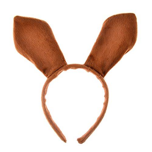 GODNECE Känguru Ohren Haarreif Kinder