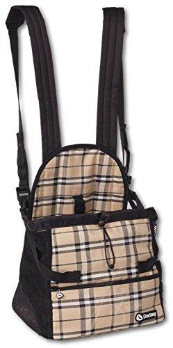 Artikelbild: Doxtasy Hundetragetasche Carrier scottisch beige S für Kleintiere bis max. 9 kg