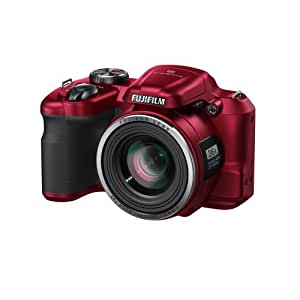 """Fujifilm Finepix S8600 Appareil photo numérique compact bridge 16,44 Mpix Écran LCD 3 """" Zoom optique 36x Rouge"""