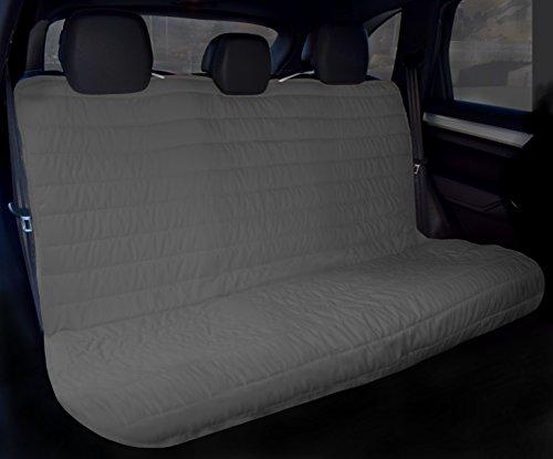 Elegant Coprisedile Posteriore per Auto 130x140cm con elastici grigio scuro/grigio chiaro