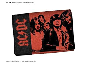 ACDC - High Way To Hell Canvas Geldbörse