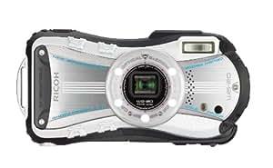 """Ricoh WG-20 Appareil photo numérique compact Ecran 2,7"""" 14 Mpix Zoom Optique 5x Etanche Blanc"""