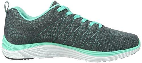 Skechers Damen Valeris Sneakers Grau (CCAQ)