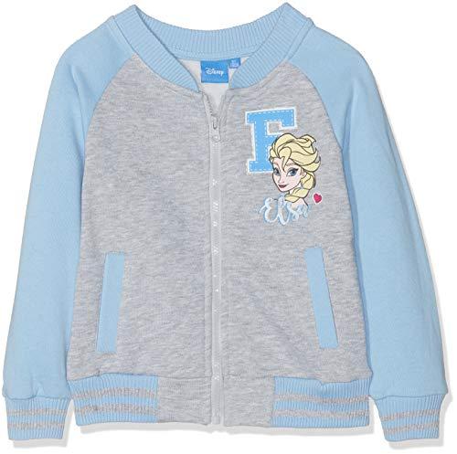 Reine des neiges 5897 giacca, grigio gris, 8 anni bambina