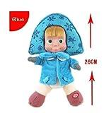 Dabixx Peluche ruso de Masha y Oso de Invierno para mascotas, juguete educativo para niños