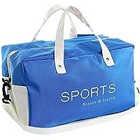 Moolecole Seco Húmedo Separado Bolso De La Natación Bolsa De Deporte Impermeable del DeporteBolsa De Almacenamiento De Natación Azul