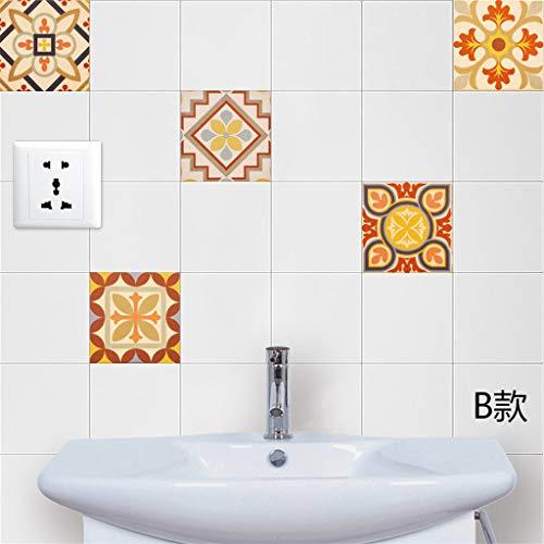 Benutzerdefinierte kreative Retro Fliesen Aufkleber kreative Wandaufkleber Dekorative Wandaufkleber Badezimmer Fliesen Aufkleber widersteht Wasser ABsoar -