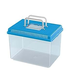 Ferplast Geo Fish Tank, Large, 30 x 20 x 20.3 cm, 6 Liter, Blue