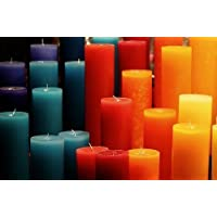 60 Wickworx Pre Waxed Wicks For Candle Making Votives // Small Candles ECO4 100mm Long.